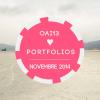 OAI13 ♥   Vos Portfolios Novembre 2014