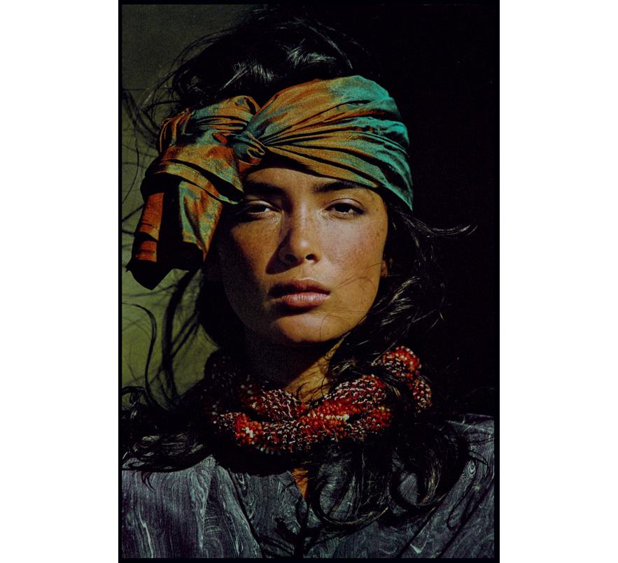 Vogue US 1985 - Model: Linda Spearing - Styling: Françoise Havan  | Hans Feurer