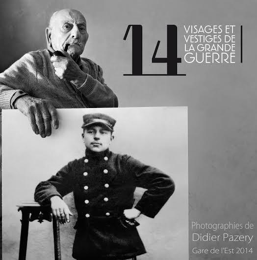 Didier Pazery, Visages et vestiges de la Grande Guerre