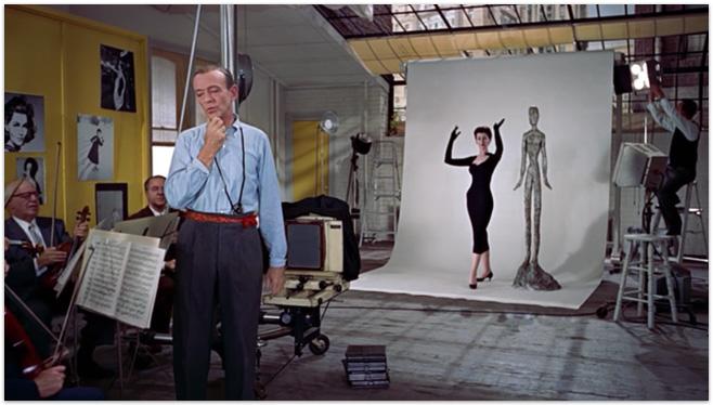 Audrey Hepburn et Fred Astair