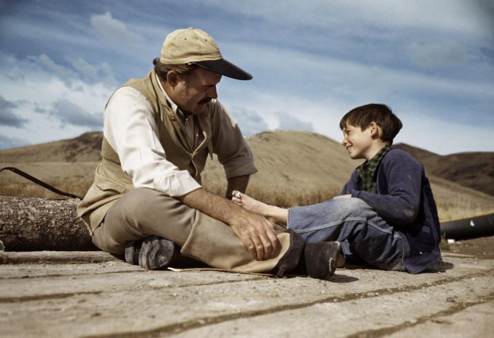 Robert Capa, Ernest Hemingway et son fils