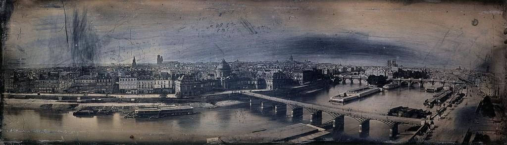 Friedrich von Martens, Vue de Paris