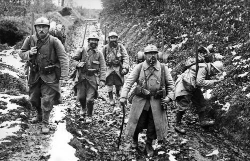 Image du front de la première guerre mondiale