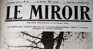 Le Miroir, édition du 6 décembre 1914