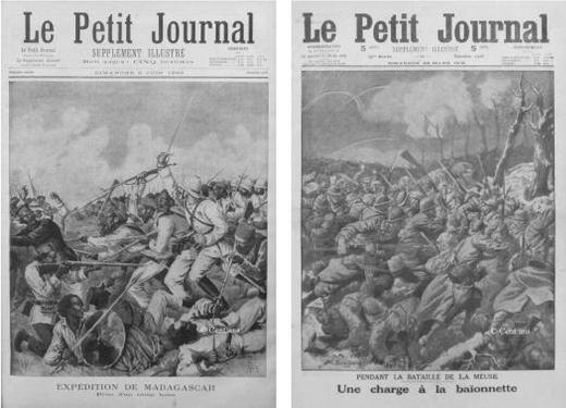 Supplément illustré du Petit Journal du 2 juin 1895 et du 26 mars 1916