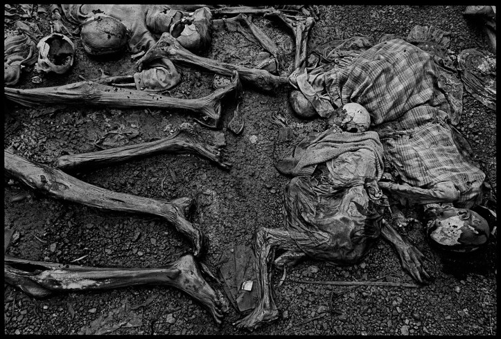 Génocide rwandais, James Nachtwey