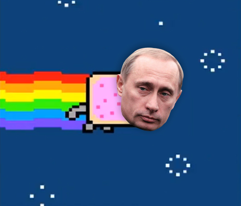 Nyan Putin, par Deborah van Mourik