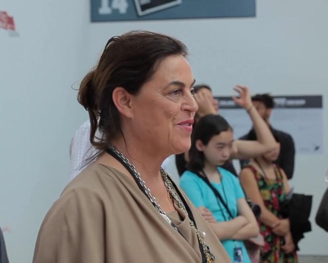 Maja Hoffman à Arles, en 2013