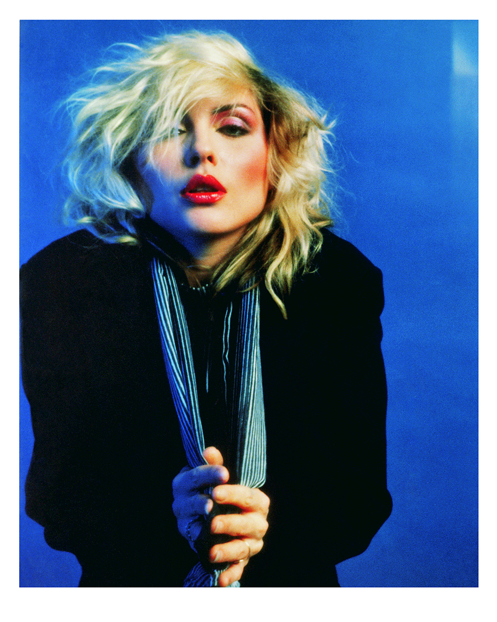 Blue Debbie Harry © Mick Rock