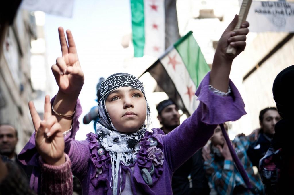 Friday demonstration in Aleppo