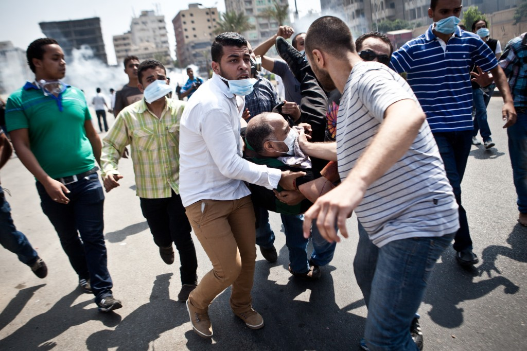 Clashes in Tayaran street
