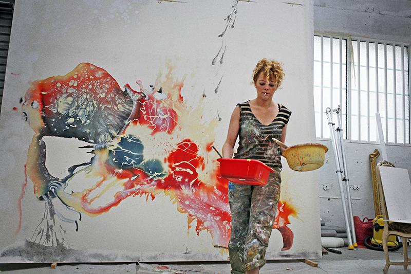 Marie-Paule Nègre Des artistes en leur monde Marlène Mocquet Paris 2011
