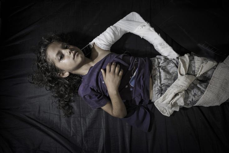 At least 16 killed, among them seven children, in UN-run school