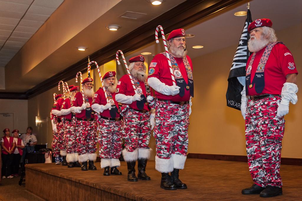 Convention de Pères Noël en Floride