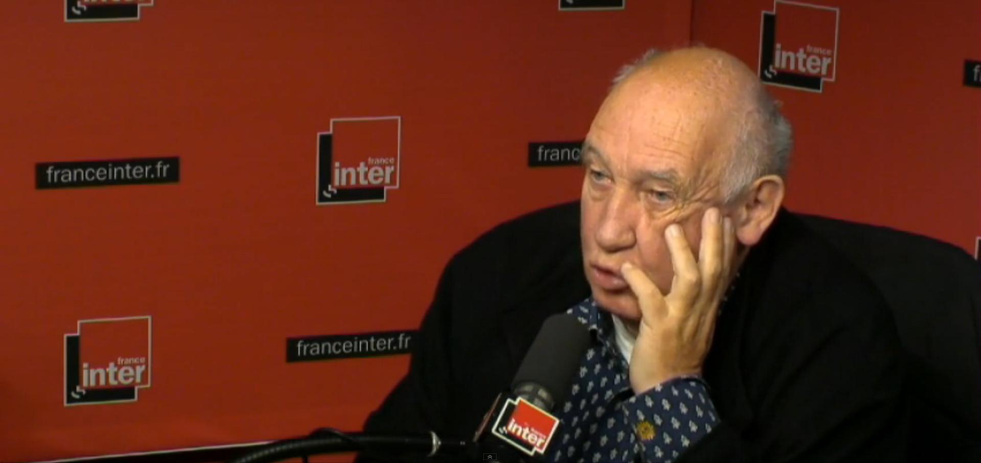 Raymond Depardon, le 31 Décembre 2014 sur France Inter (via)