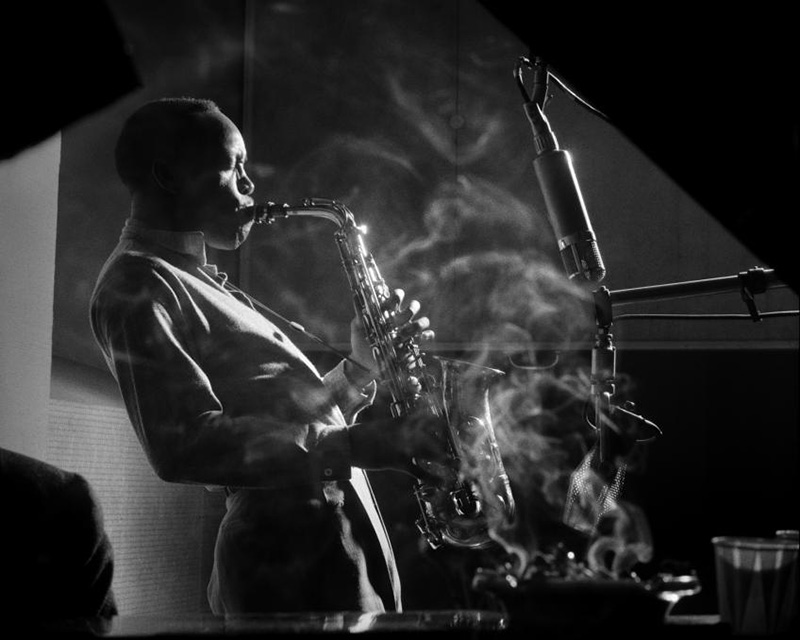 Sony Stitt par Herman Leonard