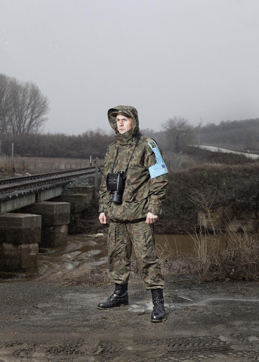 Officier Frontex polonais, Nord de la Grèce, 2012