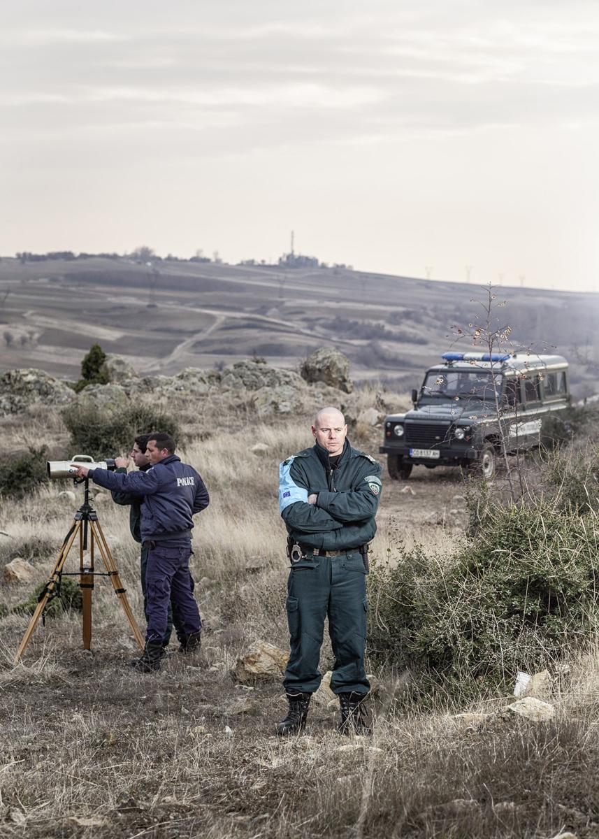 Unité gréco-bulgare de Frontex, Nord de la Grèce, 2012