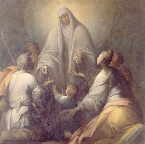 Giovanni Andrea Donducci dit Mastelletta_Elemosina_di_una_santa_1610-12_fin du manièrisme début du baroque