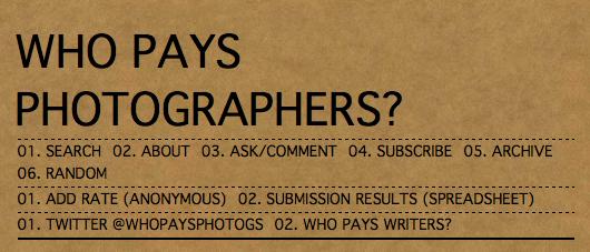 Capture d'écran du blog http://whopaysphotogs.tumblr.com/