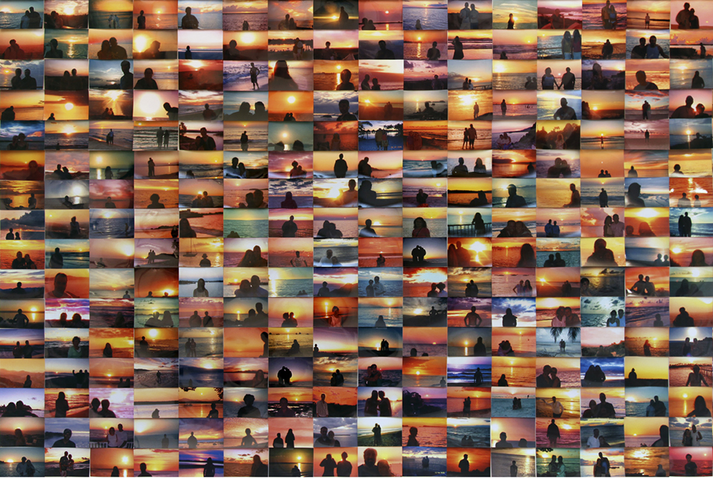 """Sunset Portraits"" (2011), Penelope Umbrico"