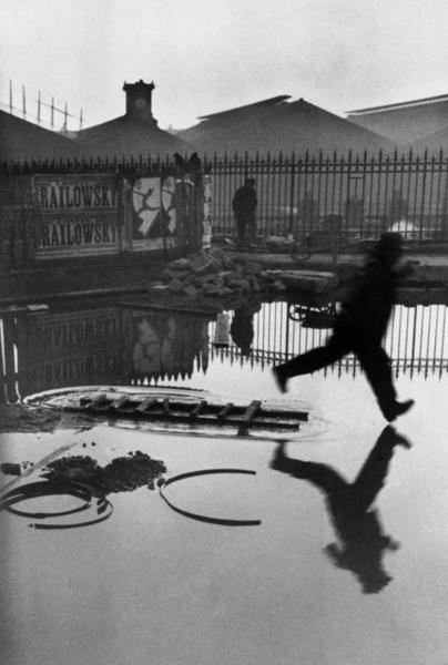Place de l'Europe. Gare Saint Lazare, 1932, Henri Cartier Bresson