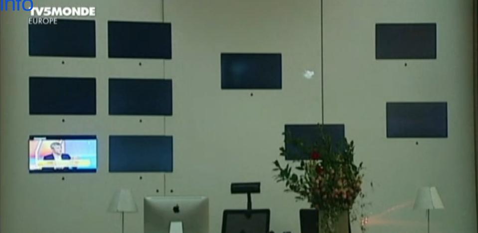 Capture d'écran France TV Info