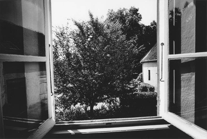 La vue depuis la fenêtre de Niepce interprétée par Daido Moriyama