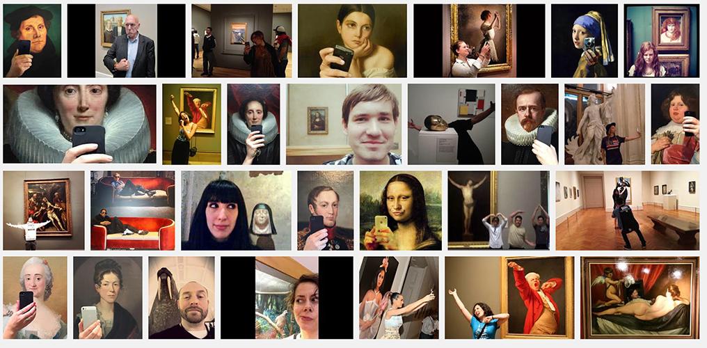 j'ai tapé selfie museum