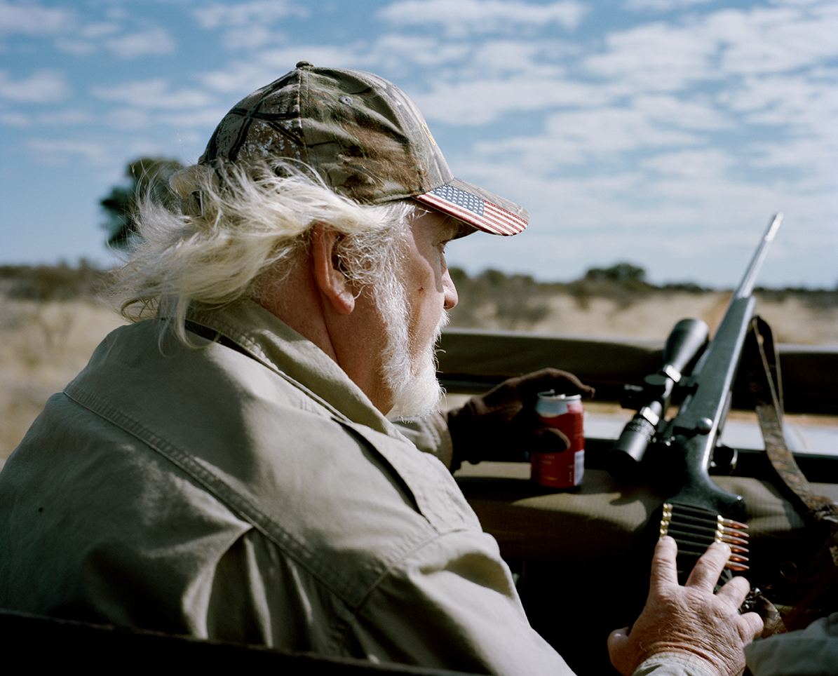 untitled hunter, kalahari, northen cape, south africa