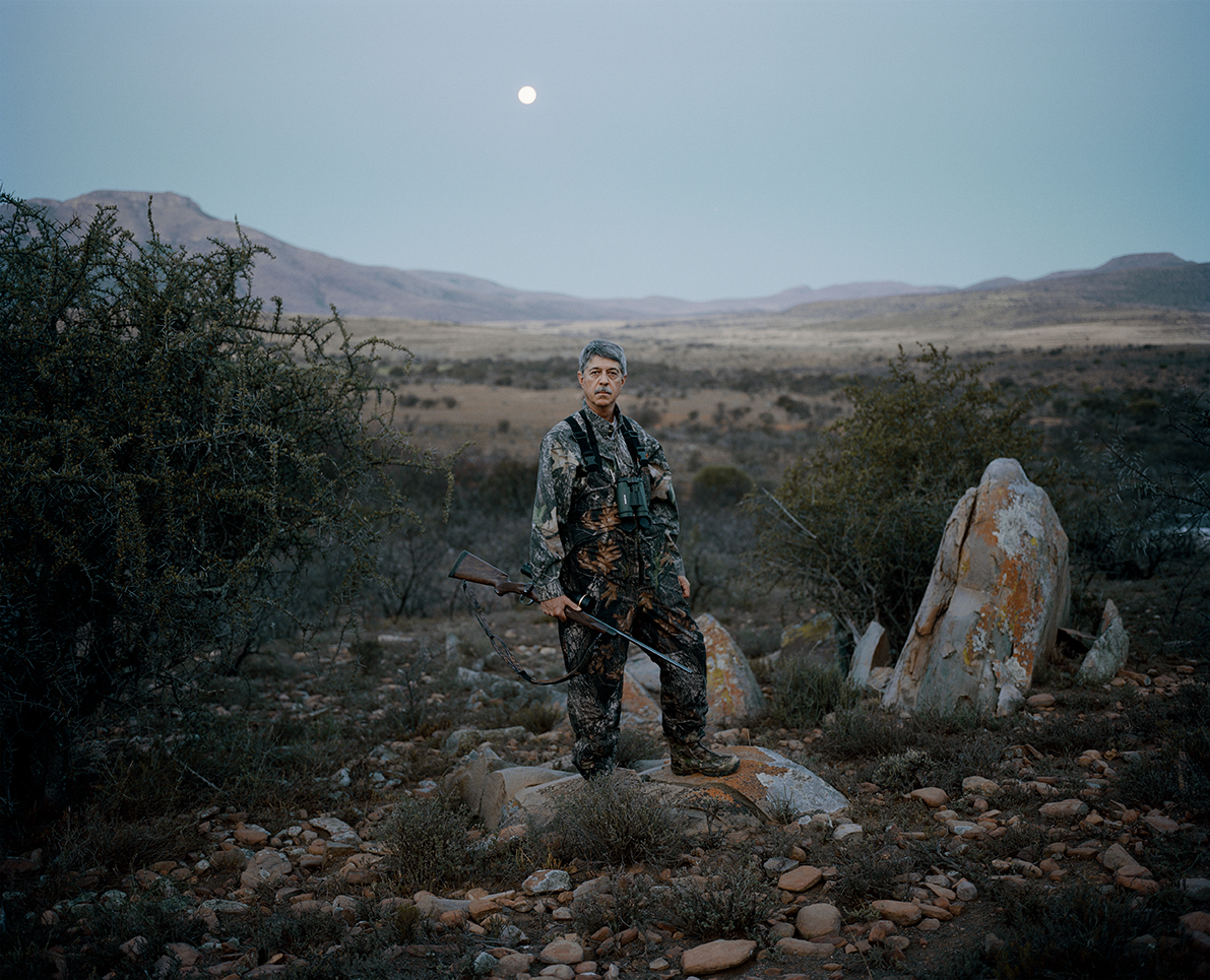 untitled hunter # I at dusk, eastern cape, south africa