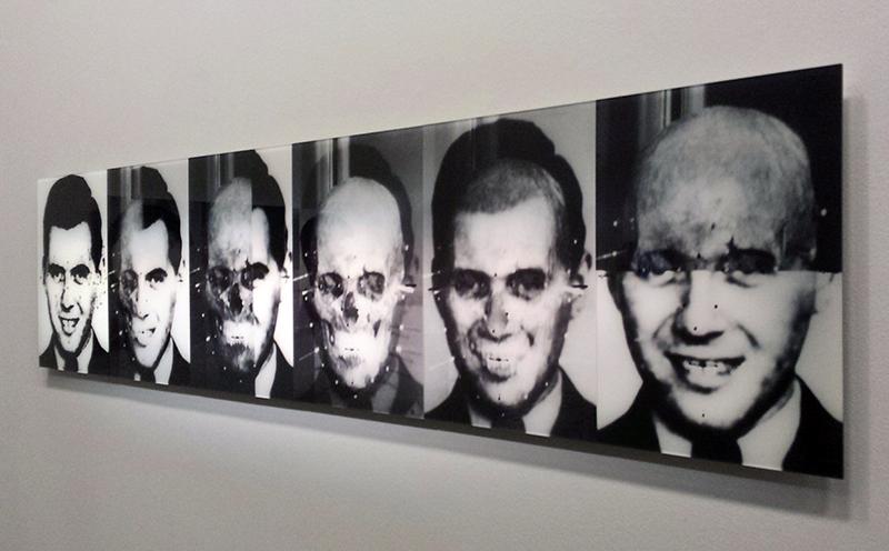 Le Crâne de Mengele : vue de l'exposition