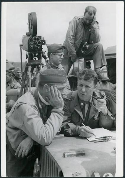 George Stevens et son équipe