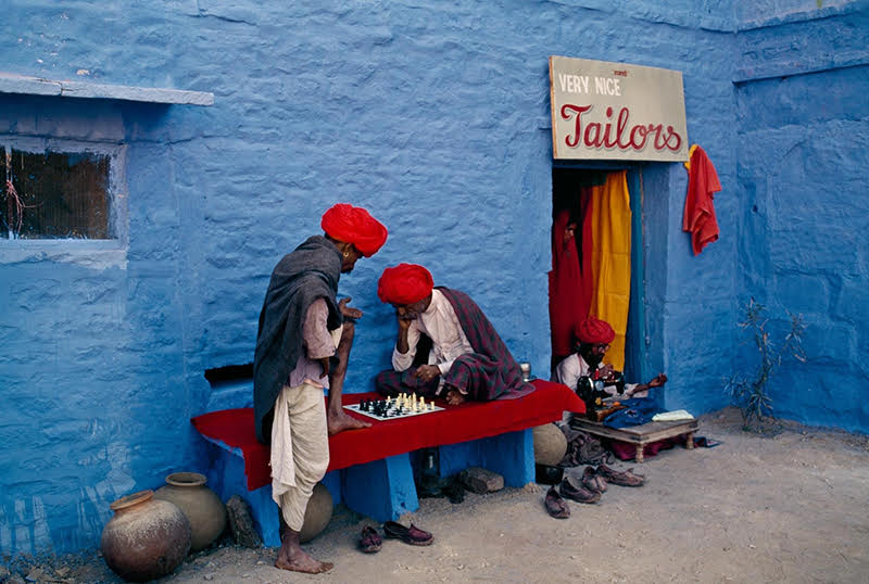 Steve Mc Curry, Blue City