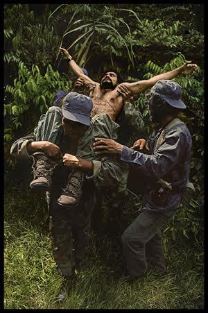 James Nachtwey, Nicaragua, 1984