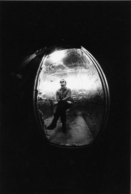 David MC Cabe, Andy dans les toilettes, La Factory, New York, hiver 1964-65