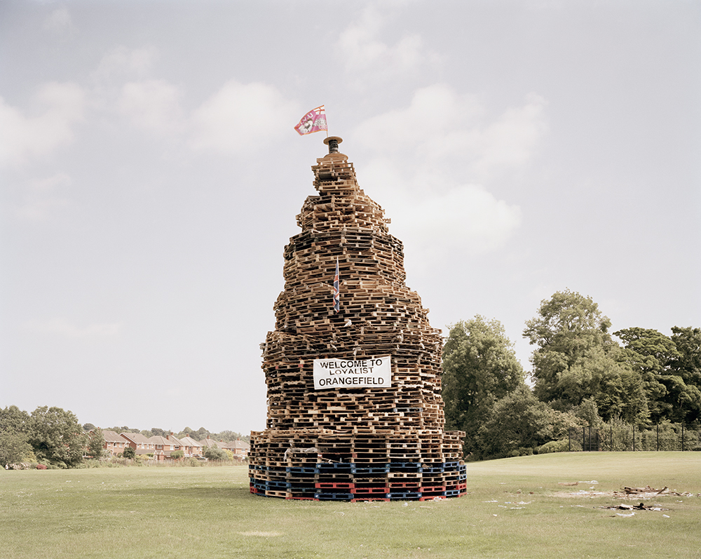 Bonfire n° 116, East Belfast, 2013