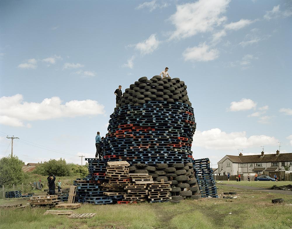 Bonfire n° 185, Antrim, 2014