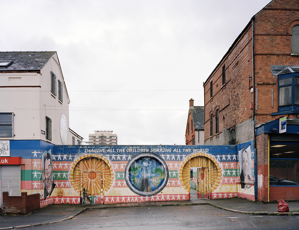 Peacewall 001, West Belfast, 2014