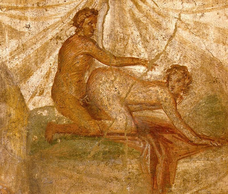 sextape à Pompei, 1er siècle av JC
