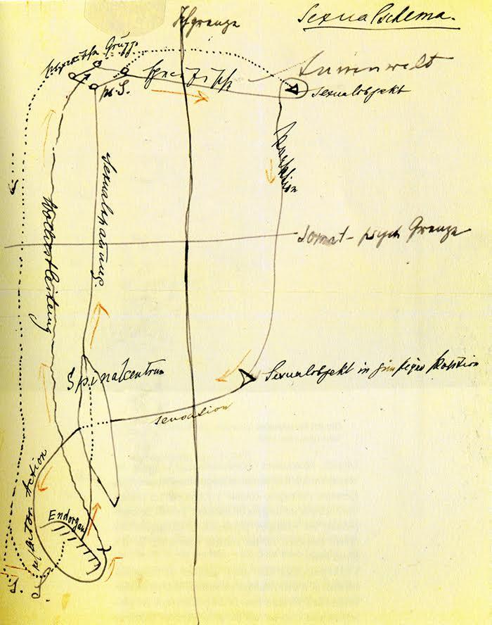 Le schéma de la sexualité tracé par Freud en 1895
