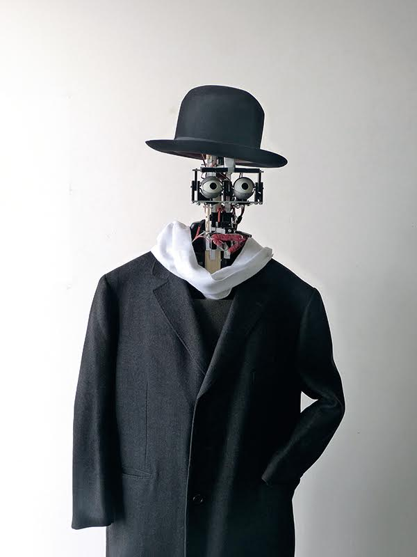 Berenson, robot « amateur d'art », Copyright  : © Denis Vidal