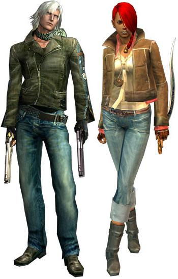 Les looks DIESEL dans Devil May Cry 2