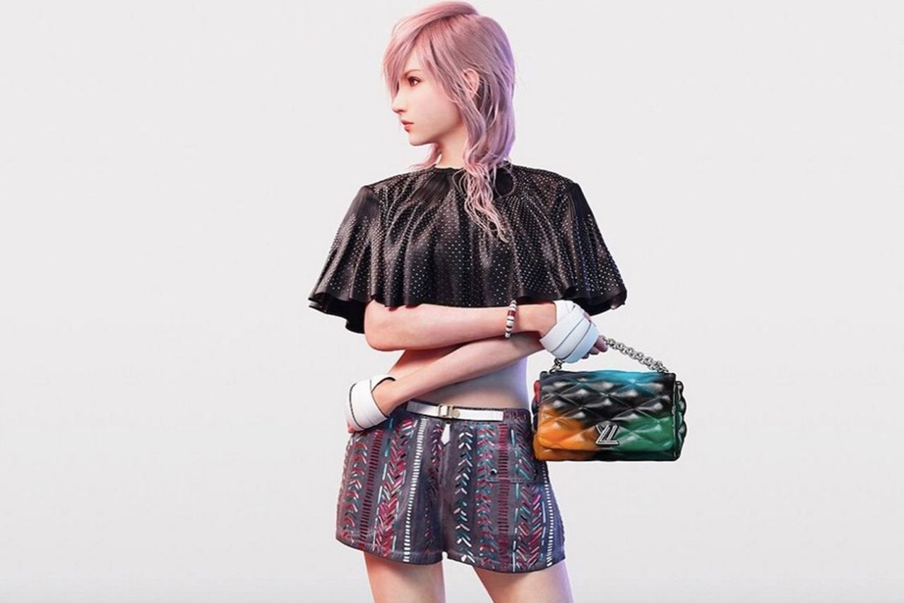 Lightning dans la campagne Louis Vuitton.