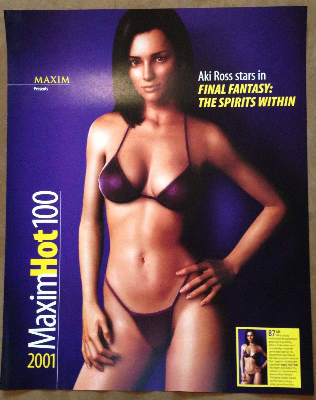 Couverture (subtile) du MaximHot100. 2001.