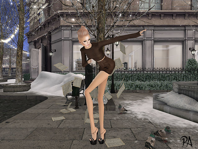 Shooting Venus Shoes via le blog de Roberta Aulder, mannequin dans Second Life.